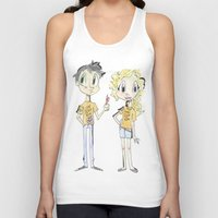 percy jackson Tank Tops featuring Percy Jackson and Annabeth Chase by Trillatia