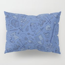 Inventory in Blue Pillow Sham
