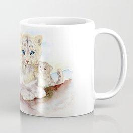 Snow leopard family Coffee Mug