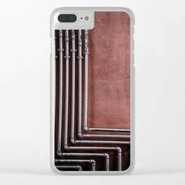 Tubes Clear iPhone Case
