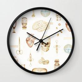 stethoscope wall clocks society6