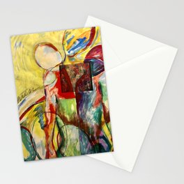 Red People Series 3 No 501 Stationery Cards