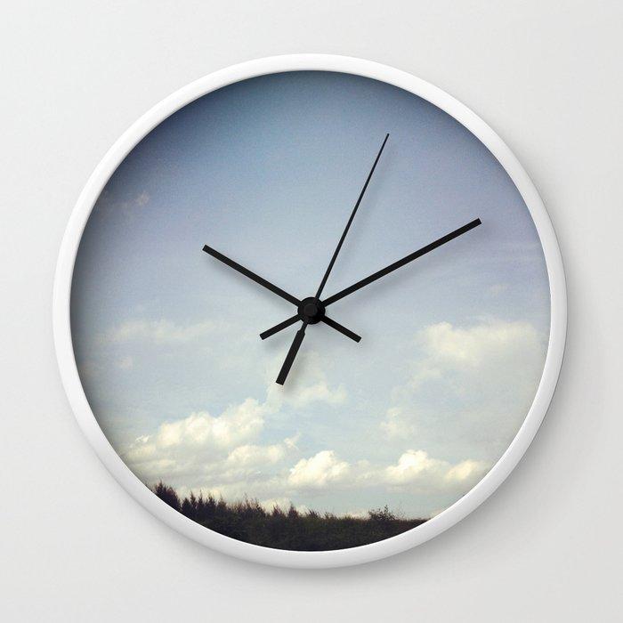 morning strolls Wall Clock