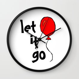 let it go .... Wall Clock