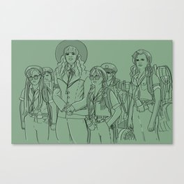 Troop 332 Beverly Hills Canvas Print