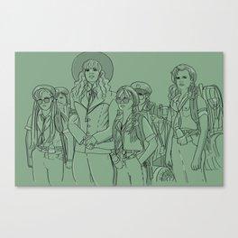 Troop 332 Beverly Hills Canvas Print