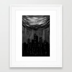 City Of Ashes Framed Art Print