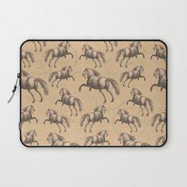 Galloping Spanish Horses Laptop Sleeve