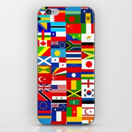 Flag Montage iPhone Skin