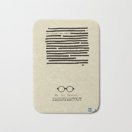 Passepartour, Philippe Daverio, tv series, rai, Poster, Locandina, Quark, Piero Angela, Rai tre Bath Mat