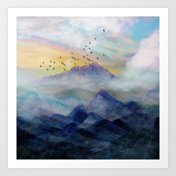 Mountain Sunrise Kunstdrucke