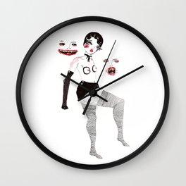 Mistress to the Night Wall Clock