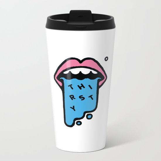 Thirsty Metal Travel Mug