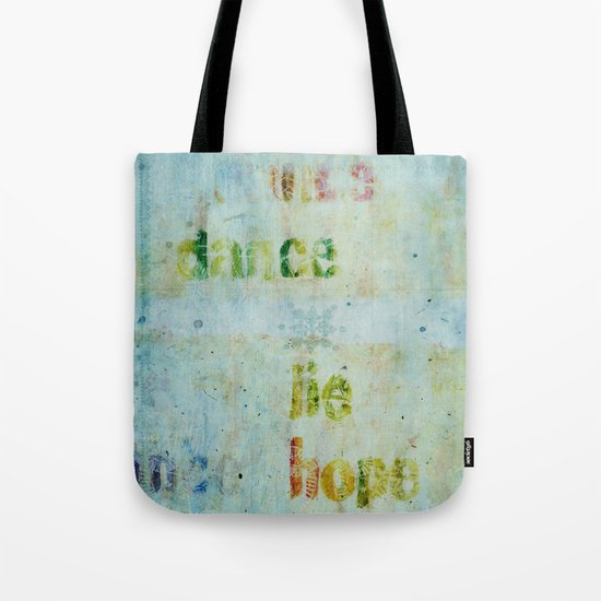 words 2 Tote Bag