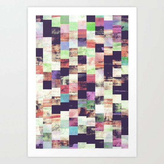 Movement II Art Print