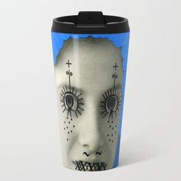 Blue Dots Travel Mug