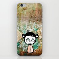 grunge iPhone & iPod Skins featuring grunge by wet yeti