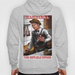 Hannibal - A gentleman butcher Tagline Hoody