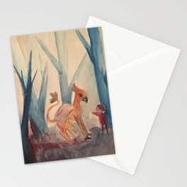 Beast in the Woods Stationery Cards