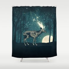 The Forest of the Lost Souls Shower Curtain