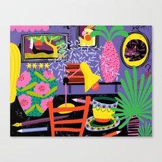 Workspace Canvas Print