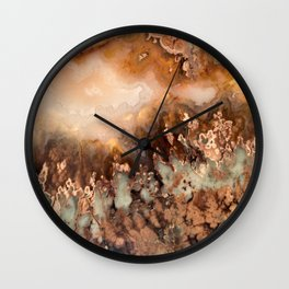 Idaho Gem Stone Wall Clock