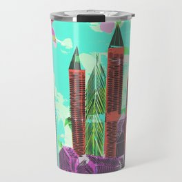 Castles Through The Emotional Windows Travel Mug