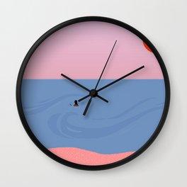 Swell // Farewell Wall Clock