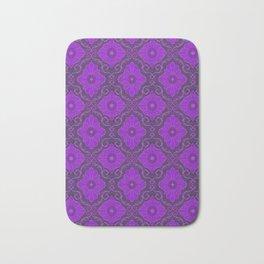 Purple Flower Bath Mat