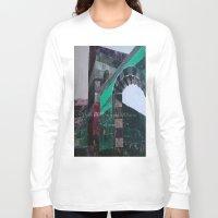 castle Long Sleeve T-shirts featuring CASTLE by Matt Schiermeier