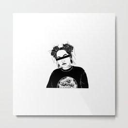 Anonymous Metal Print
