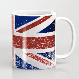 Grunge British Flag Coffee Mug