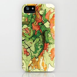 Mate' Cartography iPhone Case