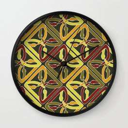 earth protractor snakes Wall Clock