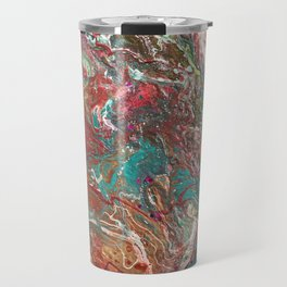 Copper and Turquoise Travel Mug