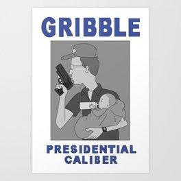 Gribble Presidential Caliber Art Print