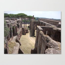 Ruins in Rome Canvas Print