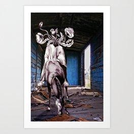 Bucéfalo Art Print