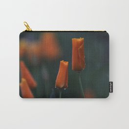 California Poppies at Dusk Carry-All Pouch