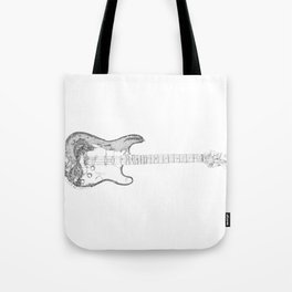 FRS 1956, Stratocaster electric guitar, NYC Artist Tote Bag