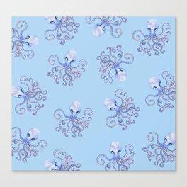 octopi Canvas Print