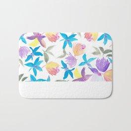 Blossomin' 'Round Bath Mat