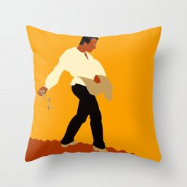 Sowing the seeds Throw Pillow