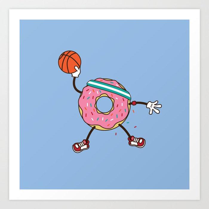 Dunking Donut Kunstdrucke
