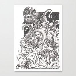 Octopus Prime Canvas Print