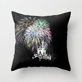 Midnight Magic Throw Pillow