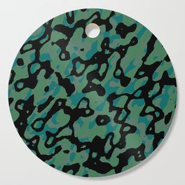 Spring Camo Cutting Board