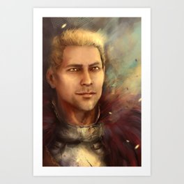 Cullen Templar Art Print