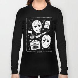 Welcome to Camp Crystal Lake! Long Sleeve T-shirt