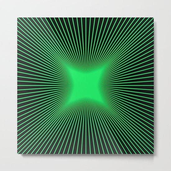 The Emerald Illusion Metal Print